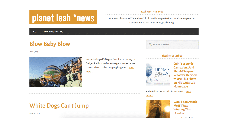Planet Leah News