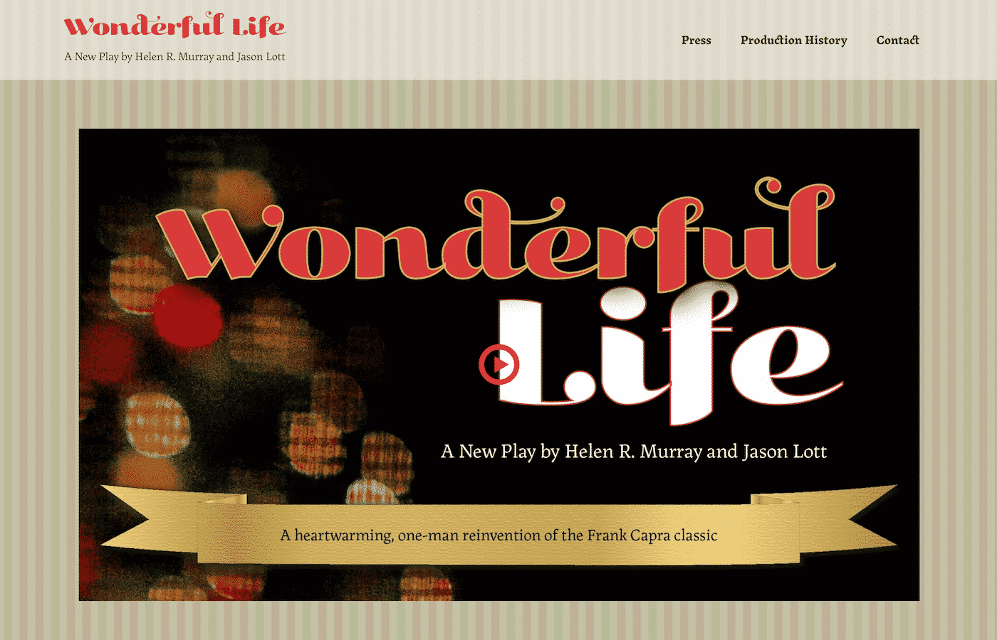 Wonderful Life the Play